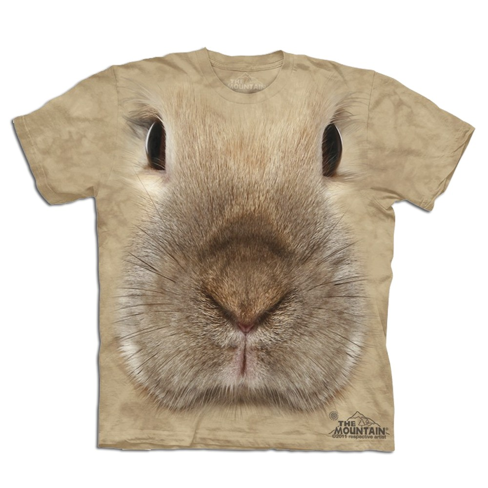 Koszulka z Królikiem 3D