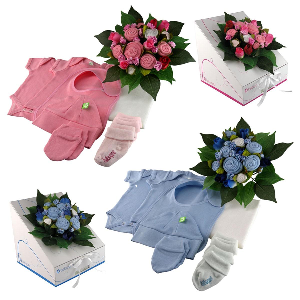 Ubranka dla dzieci w bukiecie