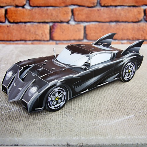 3D-Puzzle - Batmobil