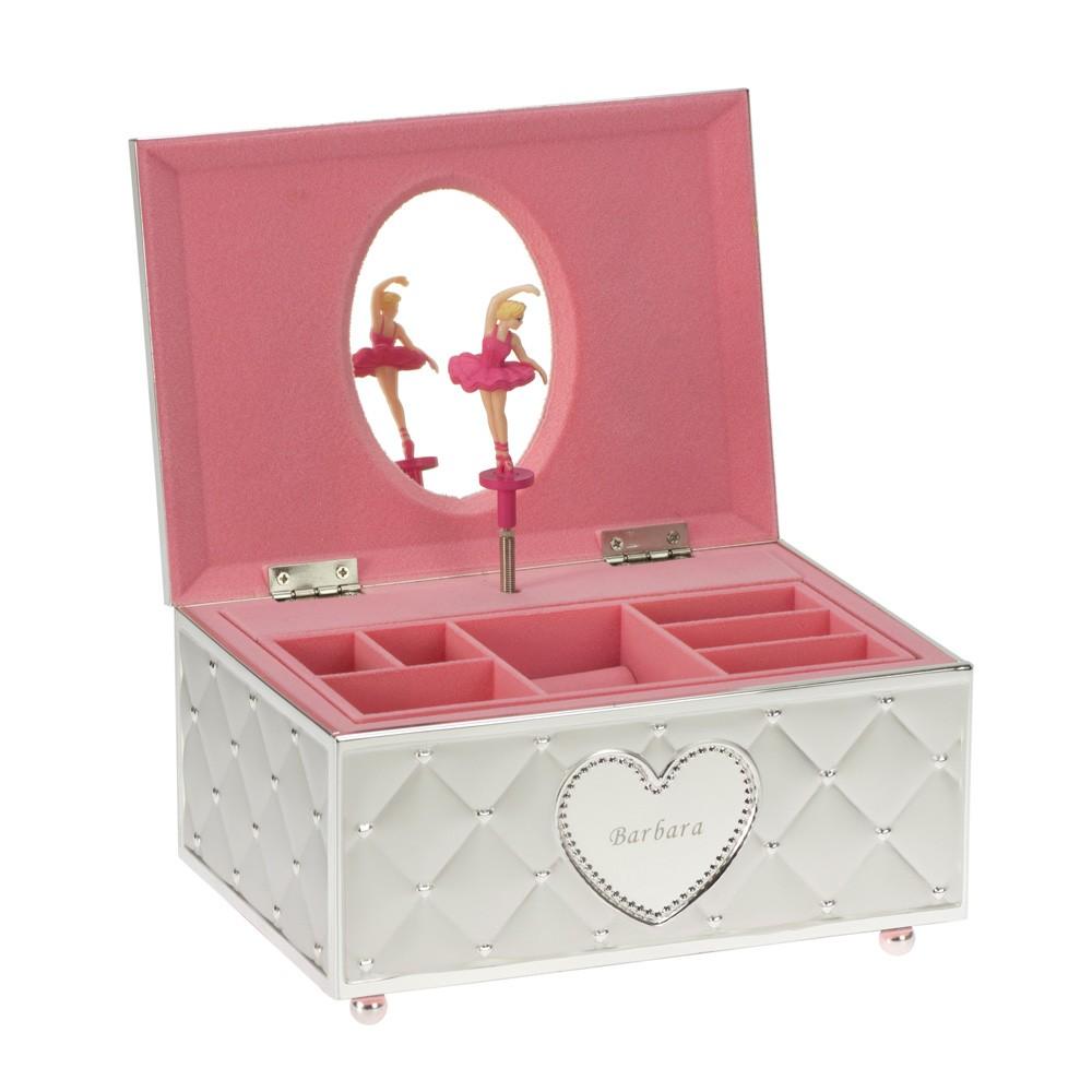 Balerina - szkatułka na biżuterię z pozytywką