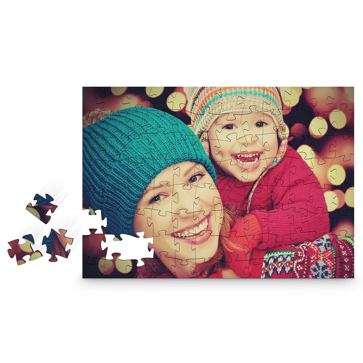 Drewniane puzzle ze zdjęcia