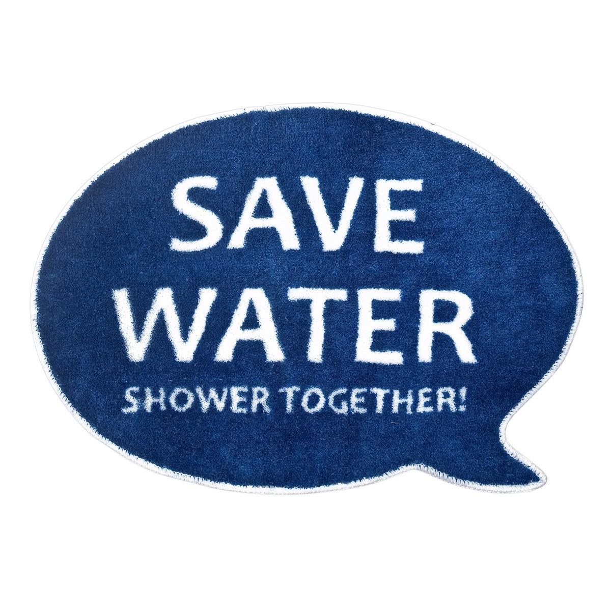 """Dywanik łazienkowy """"Save water! Shower together!"""""""