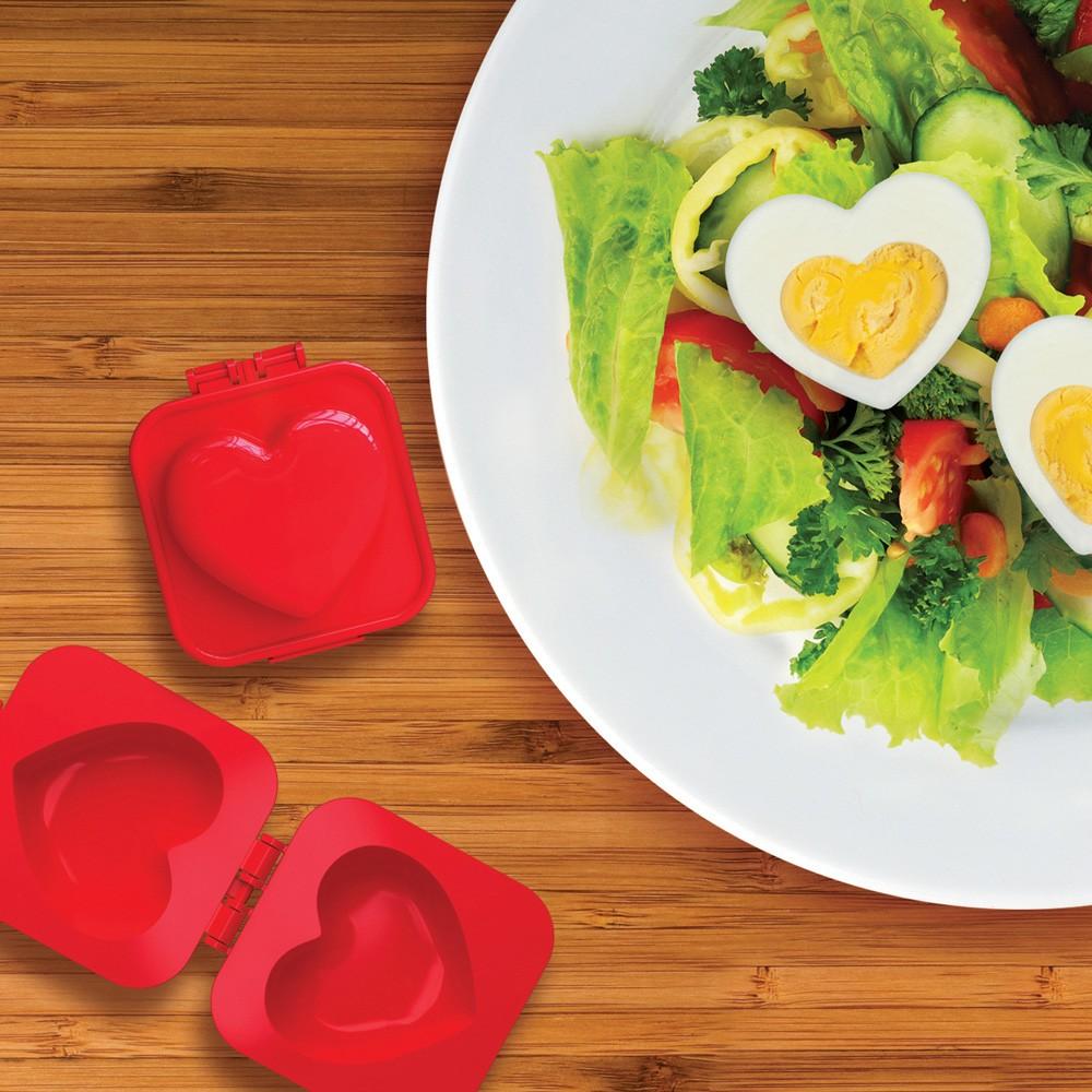 Foremka do jajek – serce na twardo