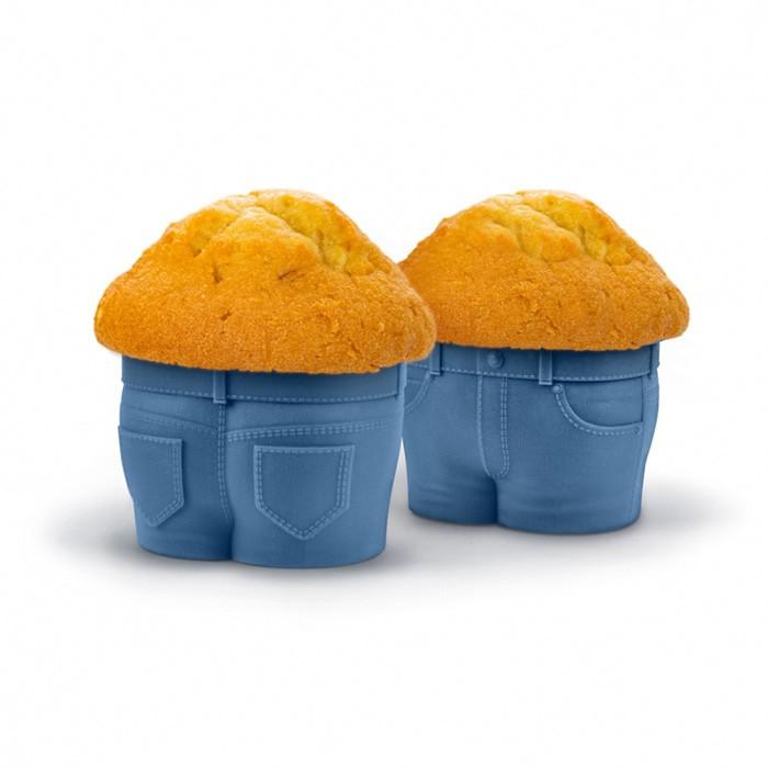 "Foremki do muffinek ""Jeansy"""