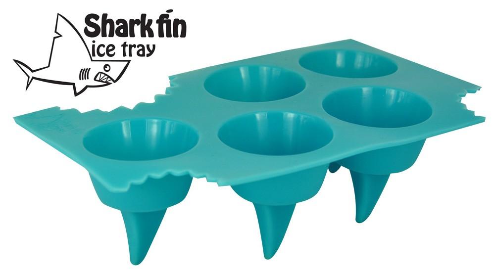 Forma do lodu płetwa rekina