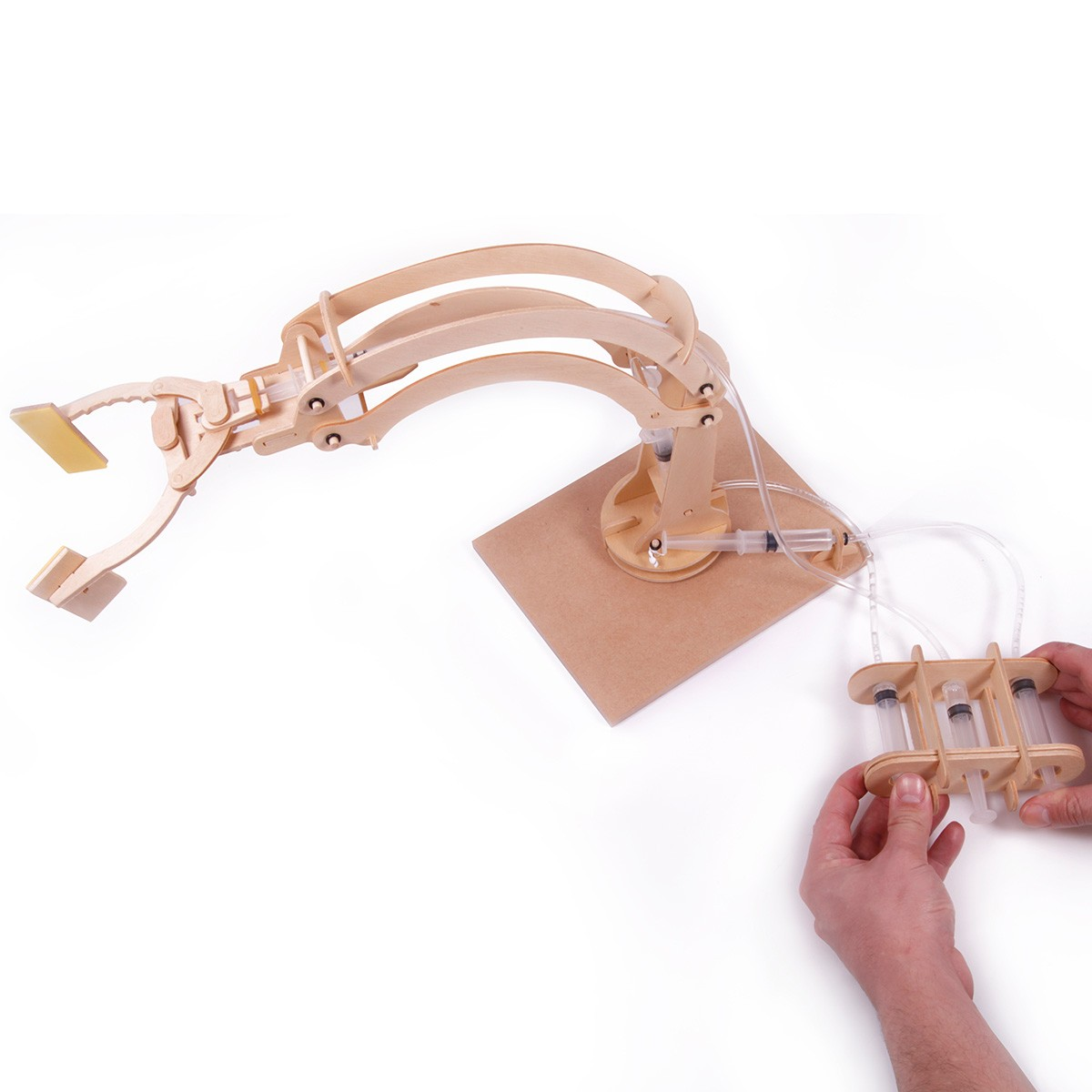 Hydrauliczne ramię robota