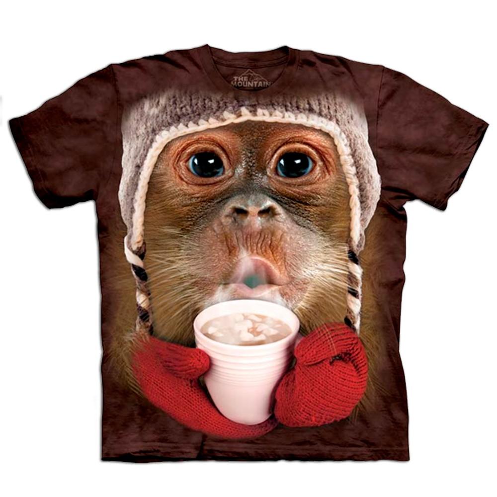 Koszulka z orangutanem 3D dla dzieci