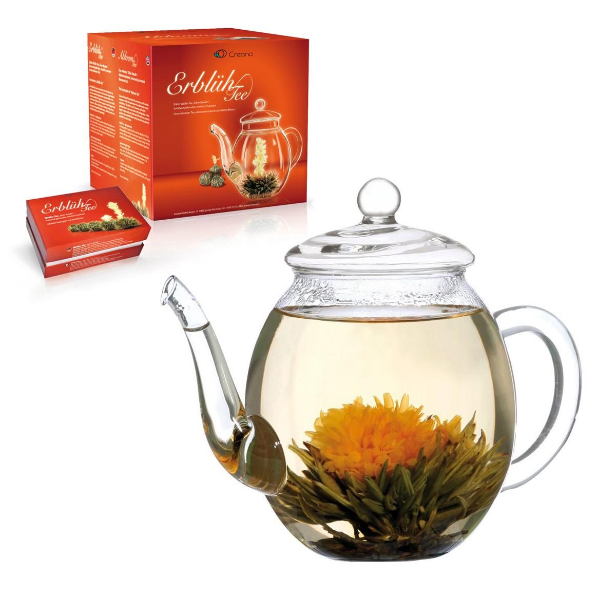 Kwitnąca biała herbata