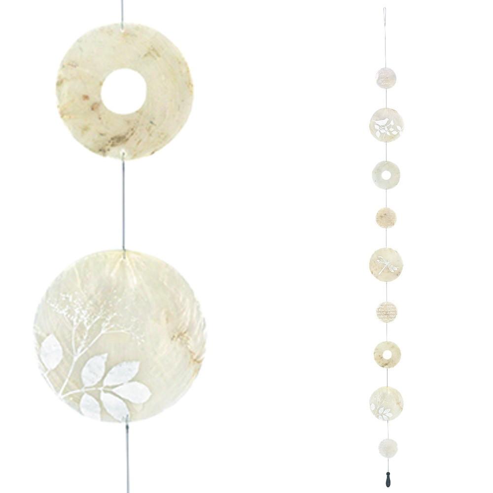 Łańcuszek dekoracyjny z muszli ostryg