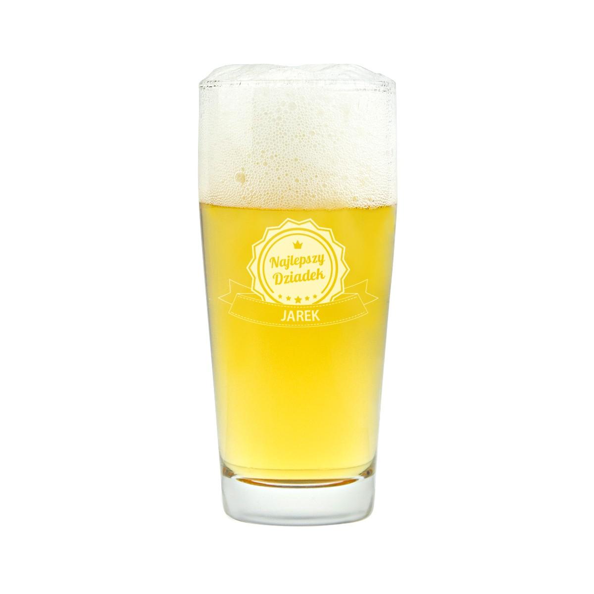 Mały kufel do piwa z grawerem