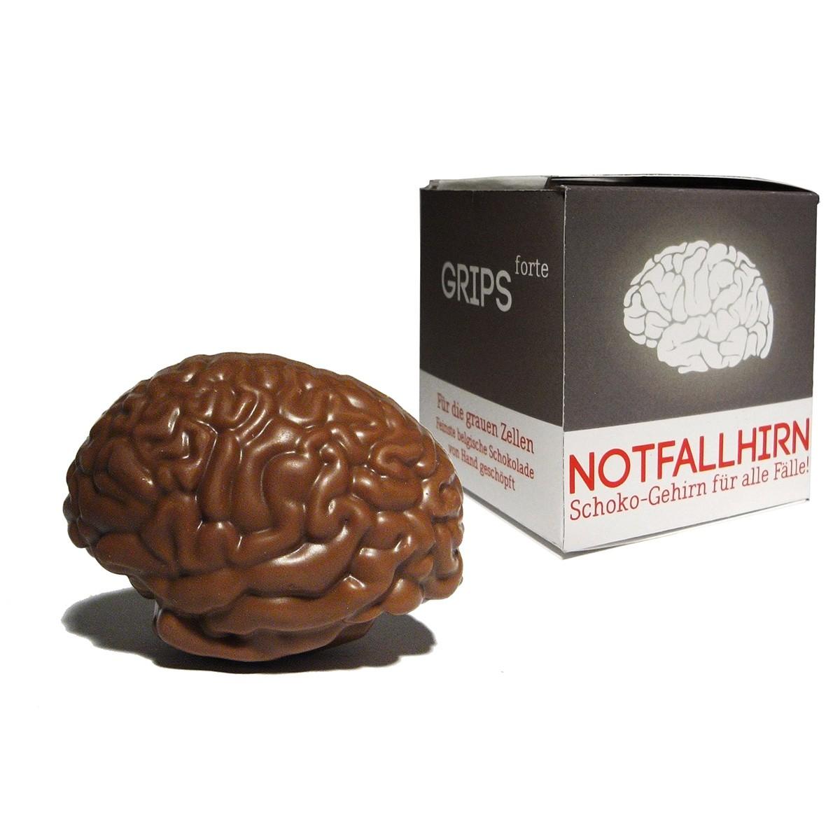 Mózg awaryjny z czekolady