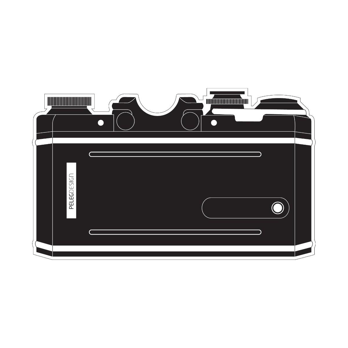 Naklejka na wizjer - aparat fotograficzny