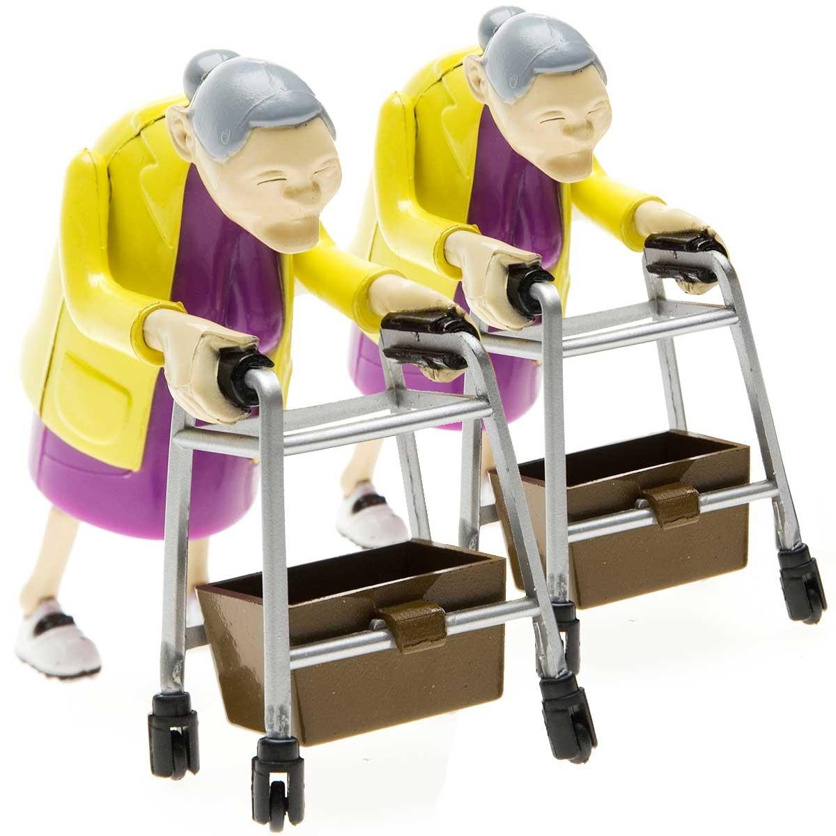 Nakręcane babcie wyścigowe