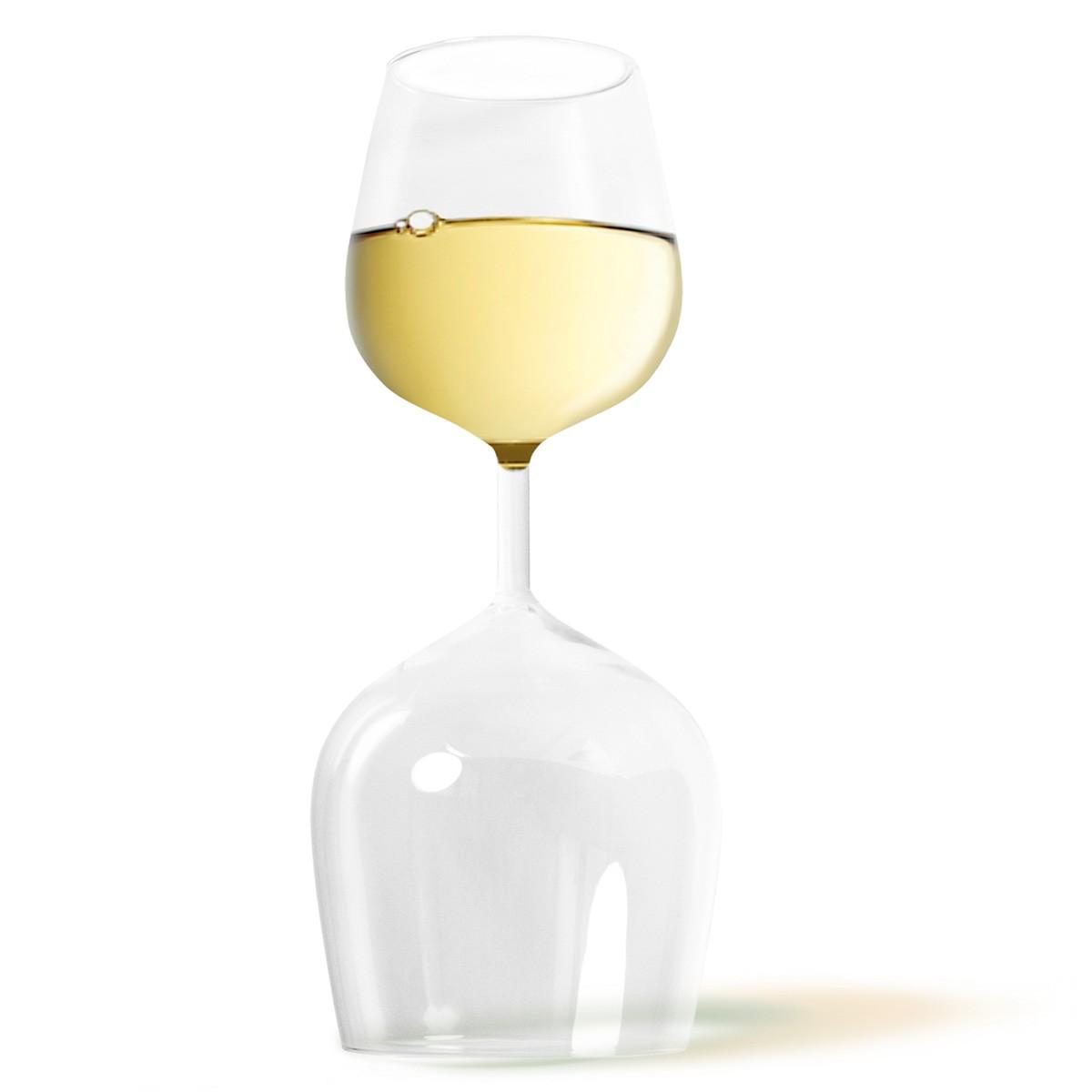 Niezwykły kieliszek do wina 2w1