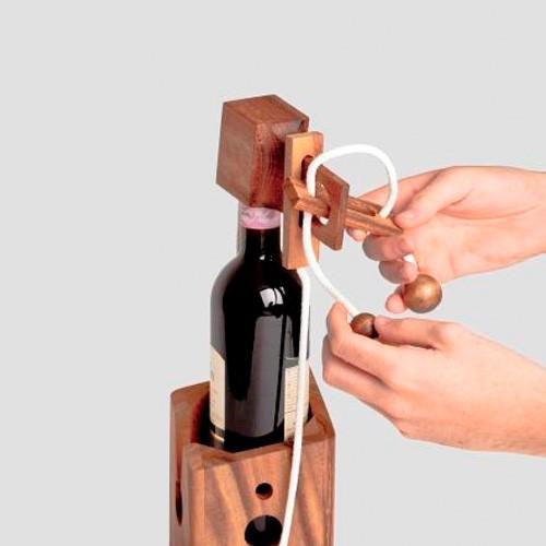 Opakowanie do wina - puzzle