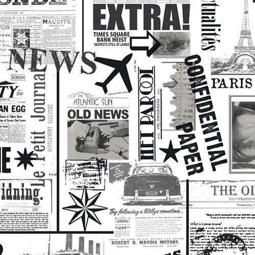 "Papier ozdobny - ""Gazeta"""