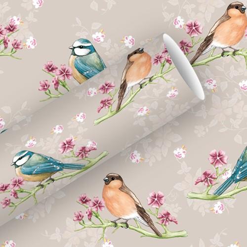 Papier ozdobny - Ptaki