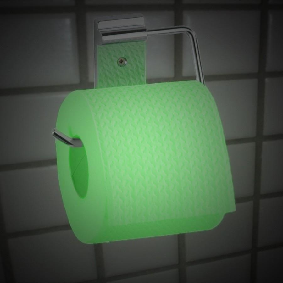 Papier toaletowy świecący w ciemnościach