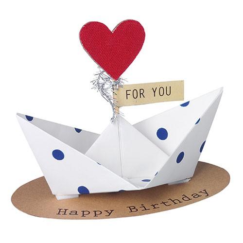 Papierowa łódka - Happy Birthday