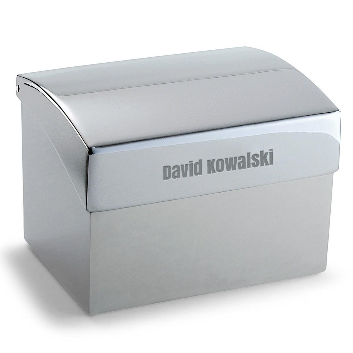 Philippi: ekskluzywne pudełko na wizytówki z grawerem