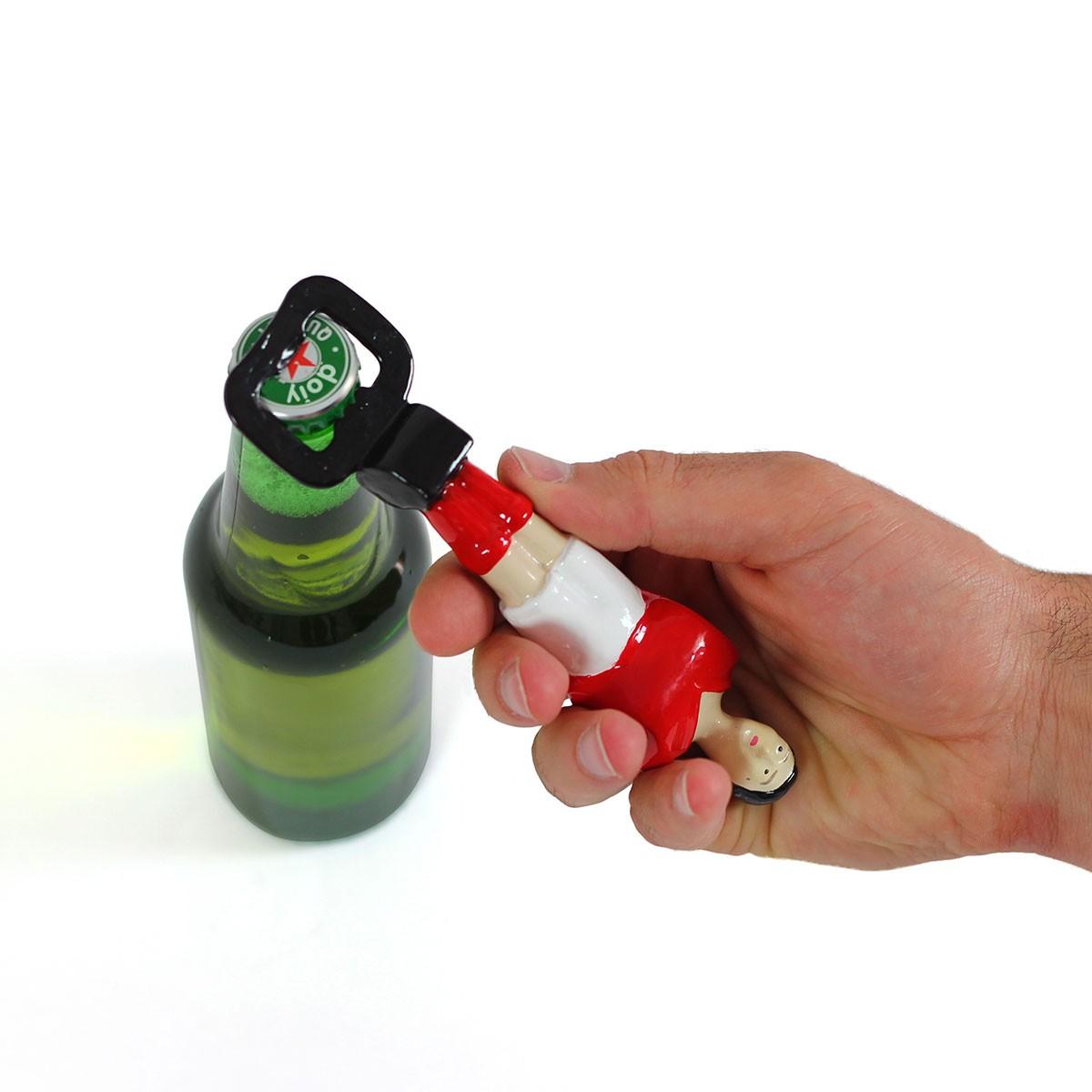 Piłkarzyk - otwieracz do butelek