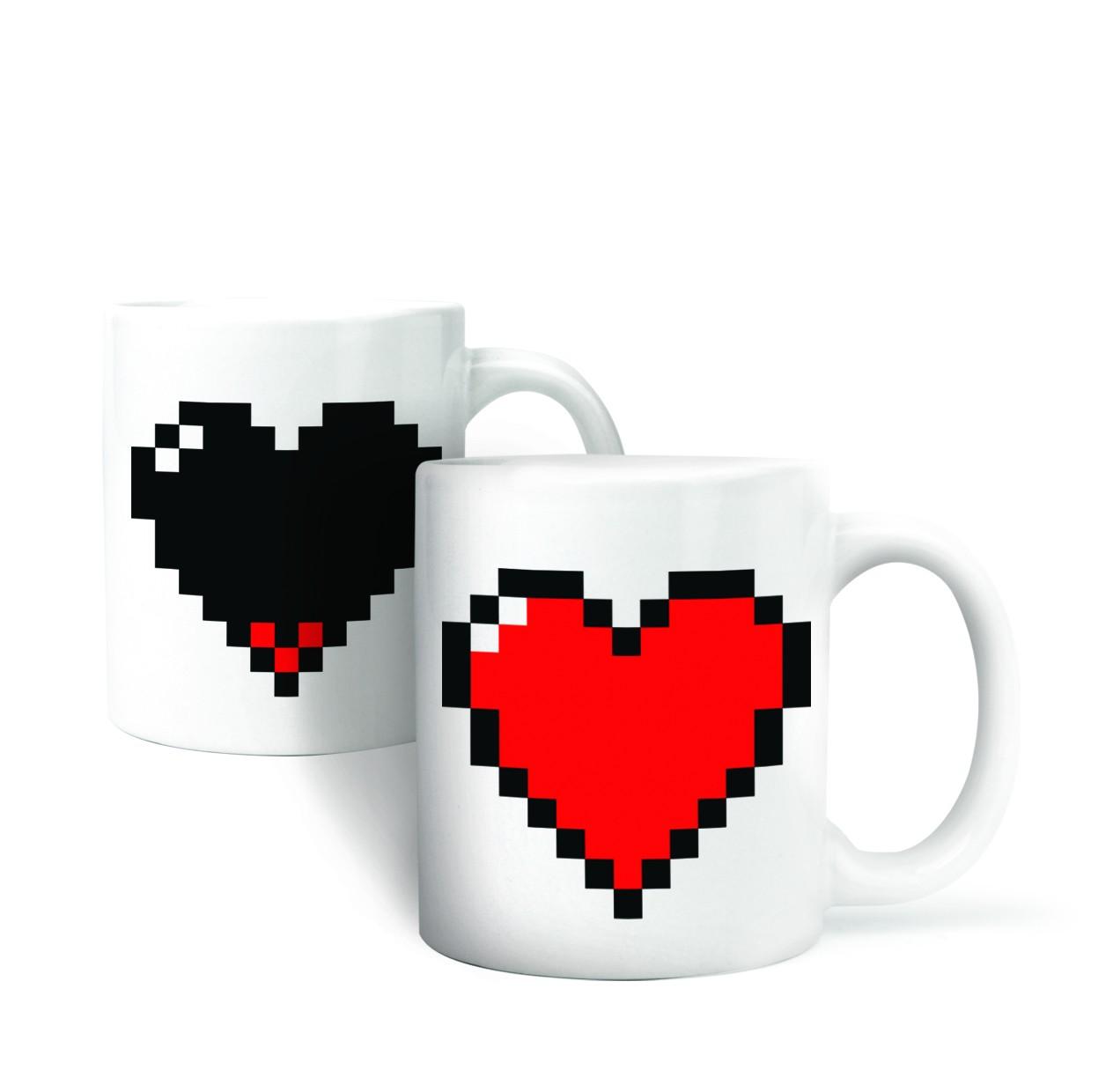 Pixel Mug – kubek od serca