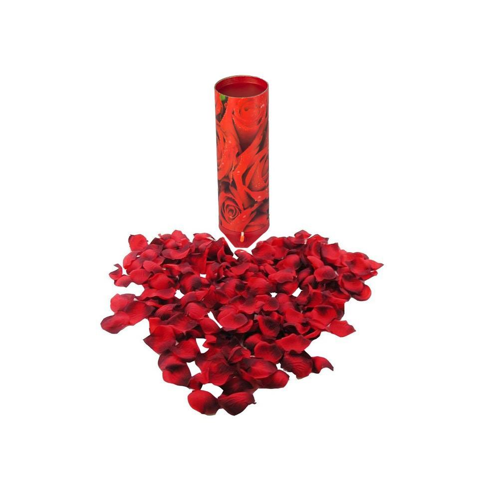 Płatki róż w tubie
