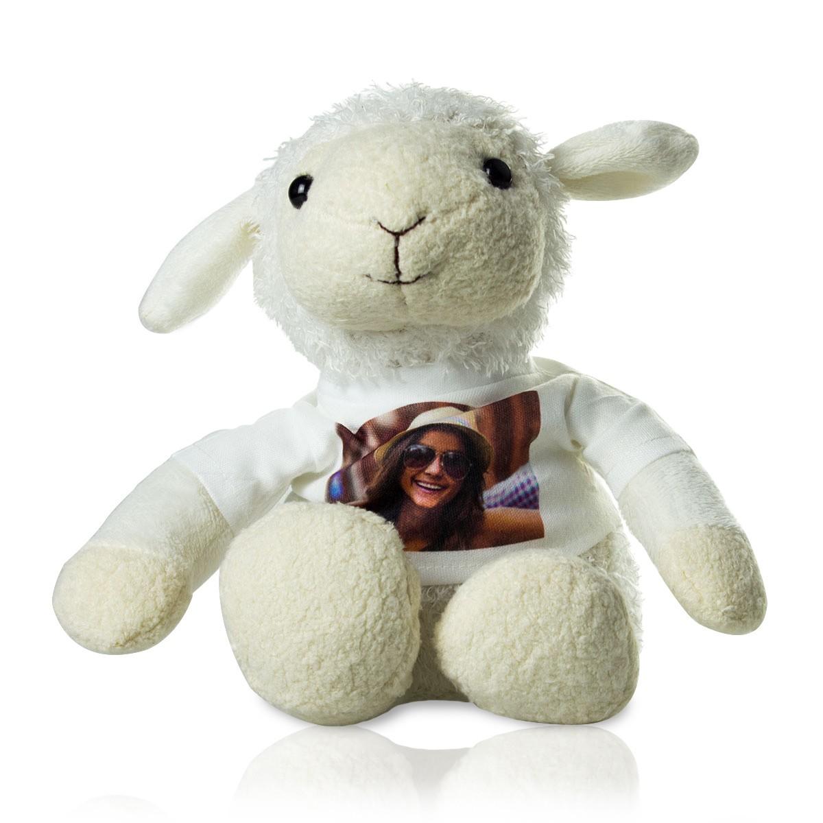 Pluszowa owieczka ze zdjęciem