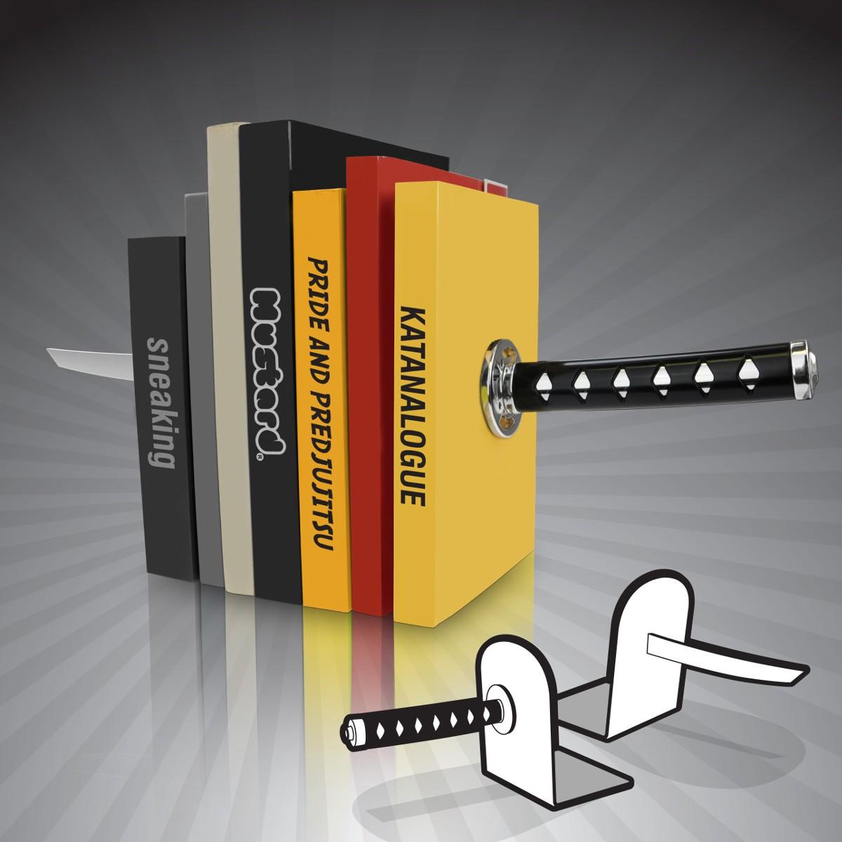 "Podpórki do książek ""Katana"""