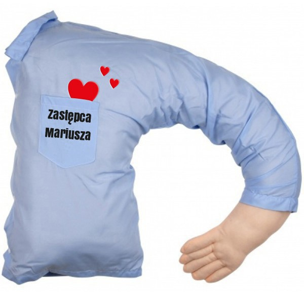 Poduszka dla samotnych - męskie ramię