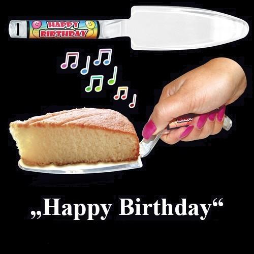 Łopatka do tortu z melodyjką
