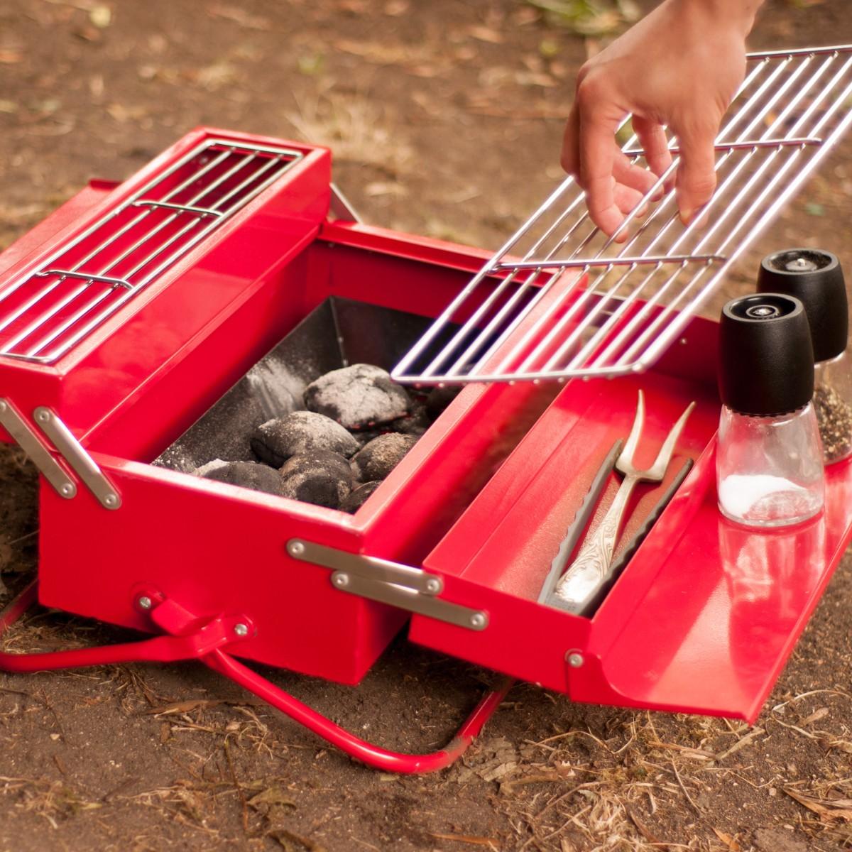 Przenośny grill składany