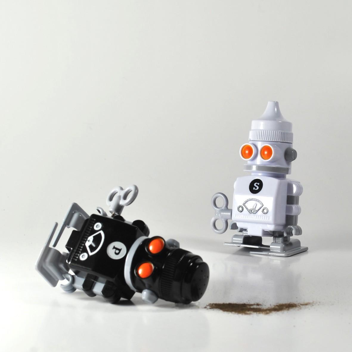 Robotyczna pieprzniczka i solniczka!