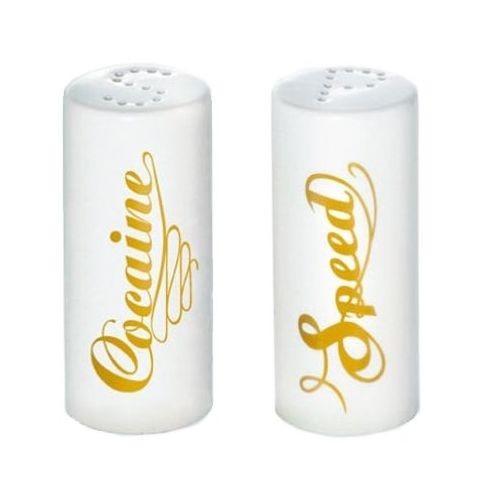 Speed & Cocaine - niekonwencjonalna solniczka i pieprzniczka