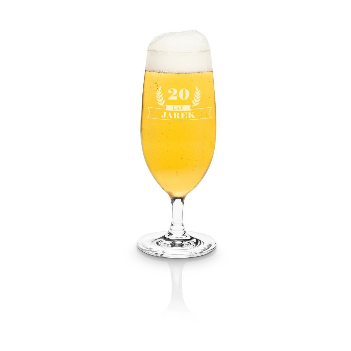 Spersonalizowana szklanka do piwa