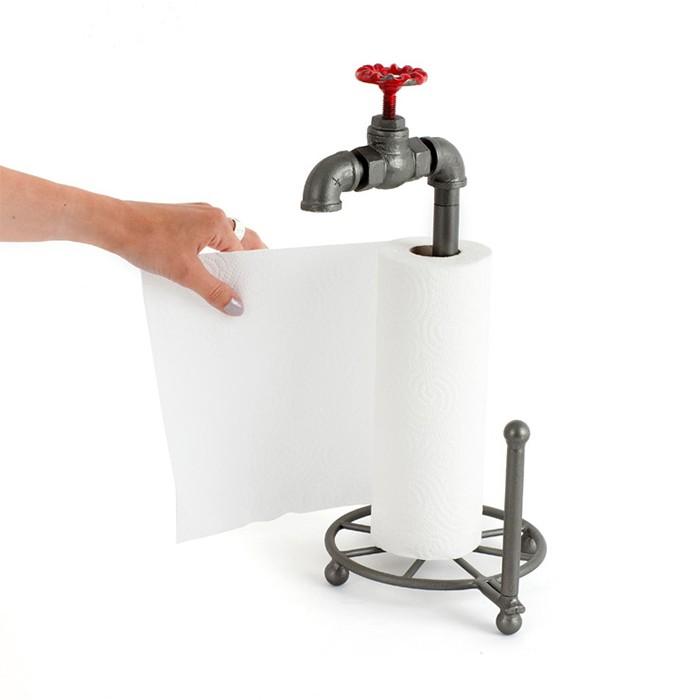 Stojak na ręczniki papierowe - kran