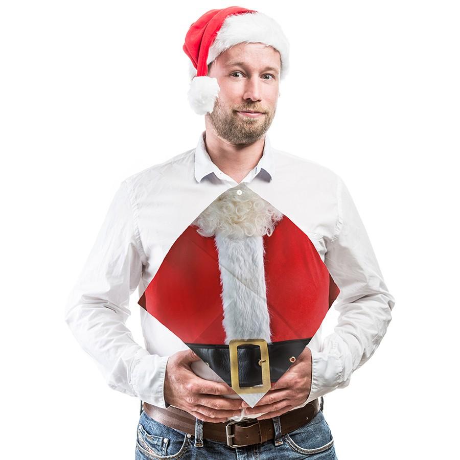 Świąteczne serwetki z Mikołajem
