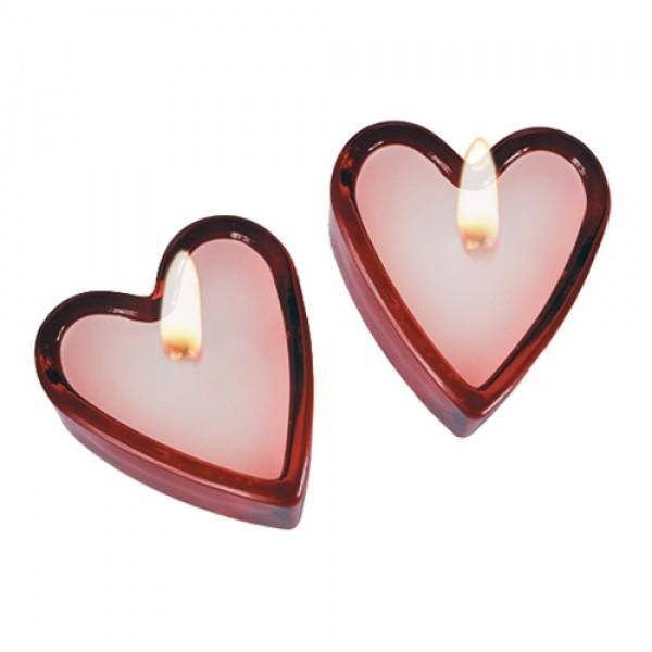 Świece zapachowe w kształcie serca