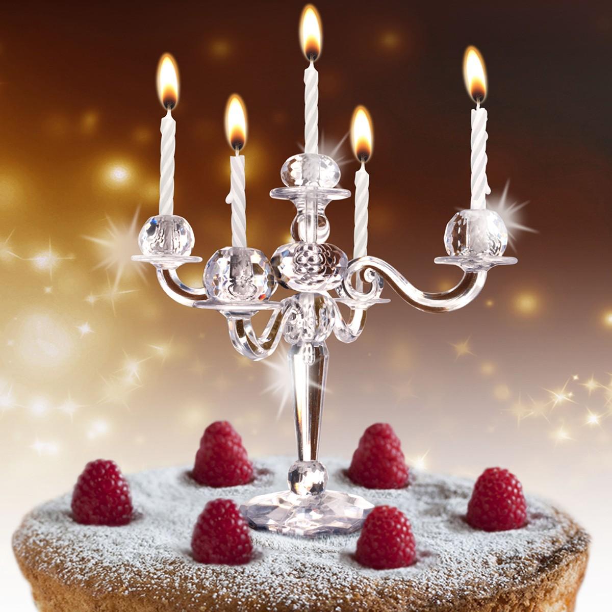 Świecznik na tort