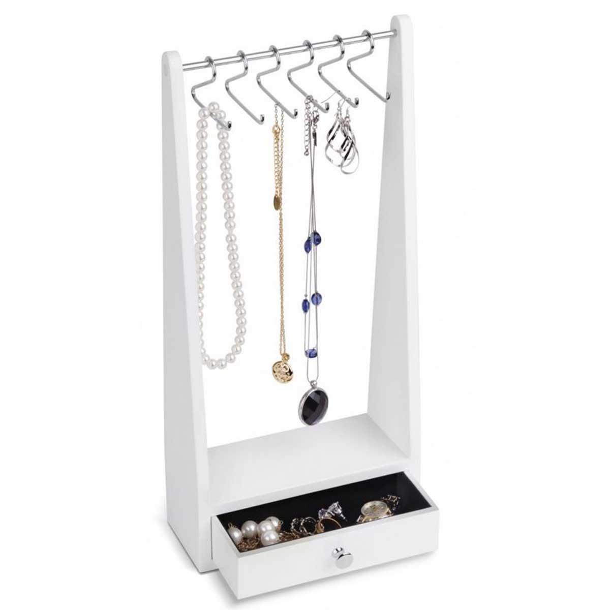 Szykowny stojak na biżuterię
