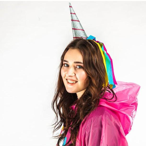"""Urodzinowe czapeczki """"Jednorożec"""""""