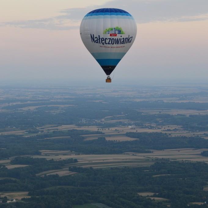 Widokowy Lot Balonem dla 2 na Wyłączność - Nałęczów