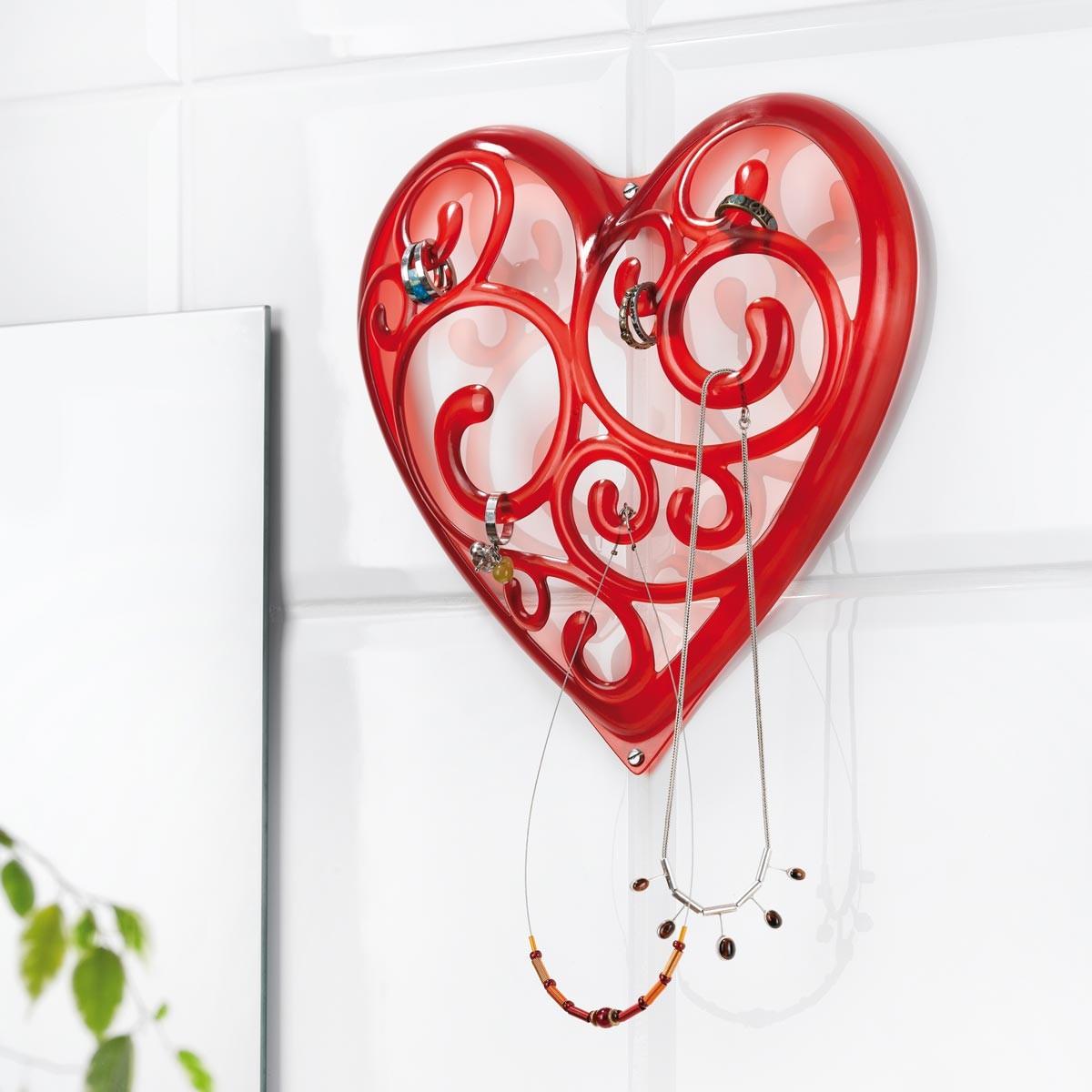 Wieszakna biżuterię - Serce