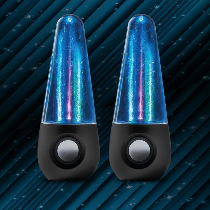 Wodne głośniki LED