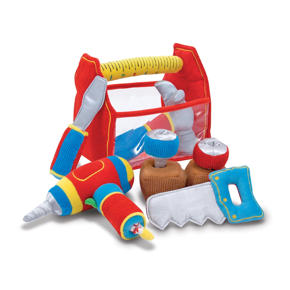 Zabawkowa skrzynka z narzędziami