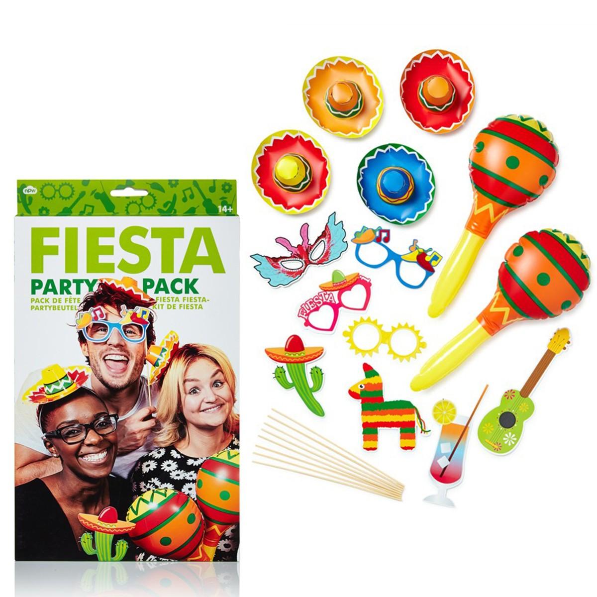 """Zestaw gadżetów do fotobudki """"Fiesta"""""""