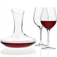 Leonardo: zestaw do czerwonego wina z grawerem