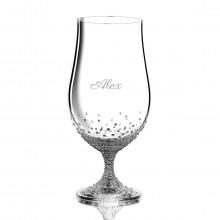 Zestaw szklanek do piwa z kryształkami Swarovskiego