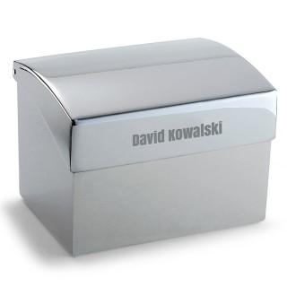 Philippi: pudełko na wizytówki z grawerem