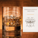 Szklanka do whiskey - Czaszka z grawerowanie